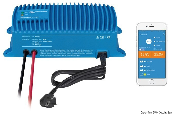 Caricabatterie Victron Blue Smart IP67 -25A, 14.273.26