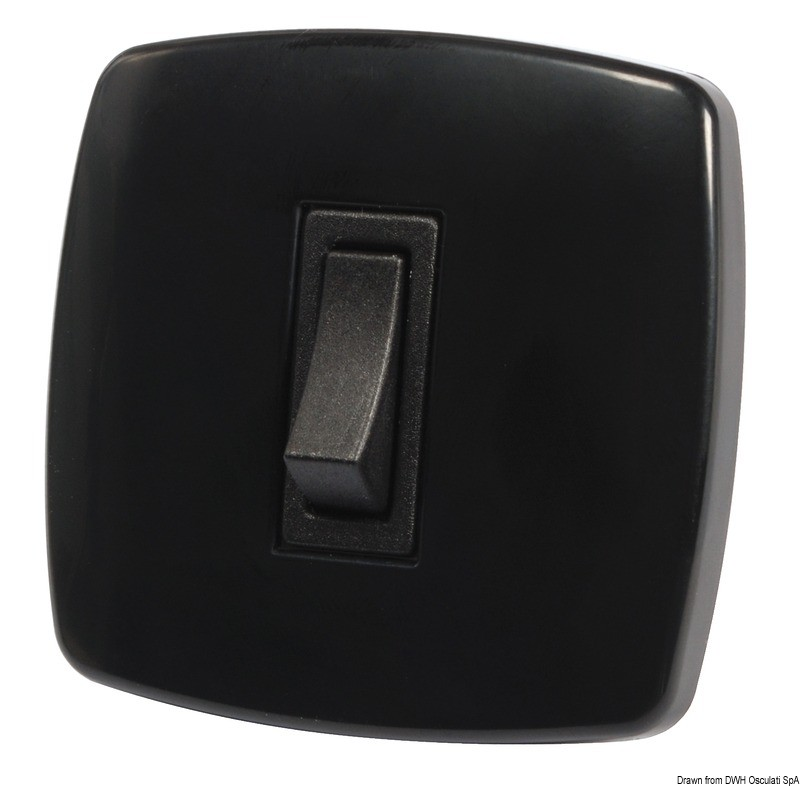 Contemporary switch N. 1 black, 14.484.11