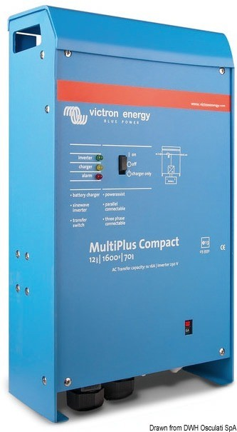 Victron Multiplus combined system 1600 W 24 V, 14.268.06