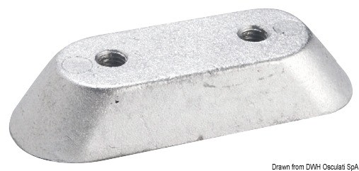 Magnesium anode for Honda outboard engines, 43.314.97