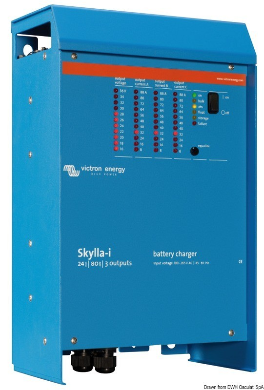 Victron Skylla battery charger 100 Ah, 14.267.04
