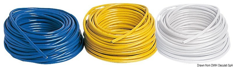 Tripolar power cable yellow 32 A, 14.593.00