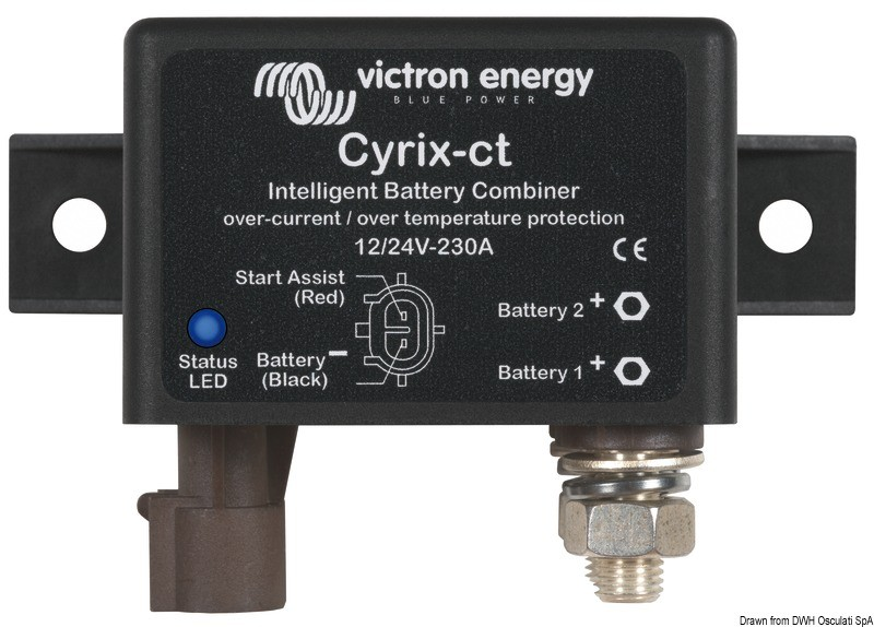 Victron Cyrix-I dual battery charger 500 Ah, 14.263.02