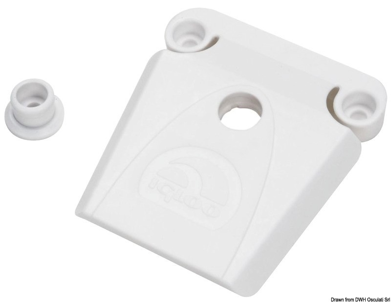 Spare white lock for IGLOO ice makers, 50.559.10