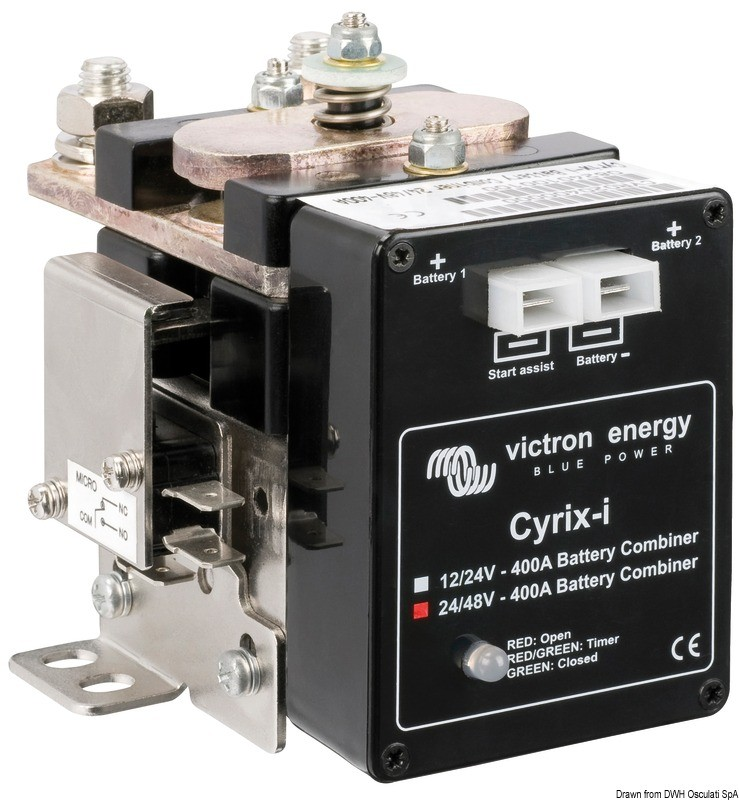 Victron Cyrix-I dual battery charger 2000 Ah, 14.263.03