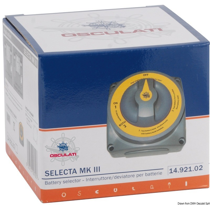 Selecta New MKIII battery switch, 14.921.02